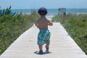 Baby on Boardwalk