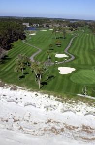 Hilton Head Golf Aerial