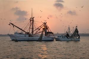 Shrimp Boat sunset (3) small